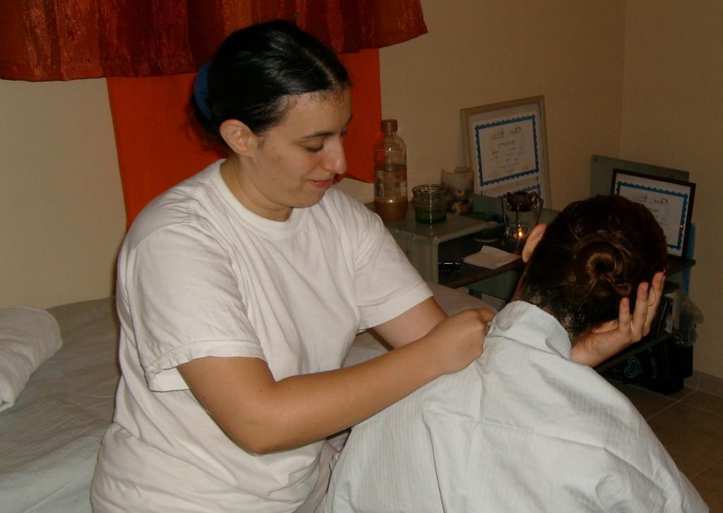 יפעת בעיסוי צוואר